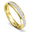 Image for 4mm Princess Diamond 60% Wedding Ring