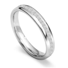 Image for 3.5mm Princess Diamond 60% Wedding Ring
