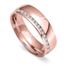 Image for 6mm Round Diamond Full Wedding Ring