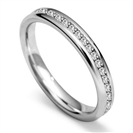 0.40CT VS/FG Round Diamond Wedding Ring