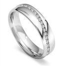 Image for 5mm Full Set Round Diamond Wedding Ring
