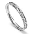 Image for 2.5mm Round Diamond Vintage Wedding Ring