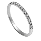 40% Round Diamond Vintage Wedding Ring
