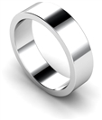 Image for 6mm Flat Wedding Ring