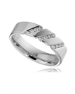 Image for 5mm Round Diamond Wedding Ring