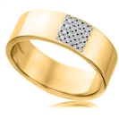 Image for 7mm Round Diamond Wedding Ring