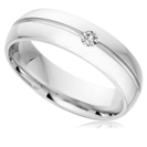 Image for 6mm Round Diamond Wedding Ring