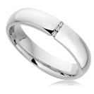 Image for 4mm Round Diamond Wedding Ring