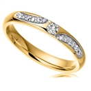 Image for 2.5mm Round Diamond Wedding Ring