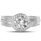 Round Diamond Designer Ring