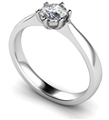 Image for 0.72CT I1/F Round Diamond Solitaire Ring