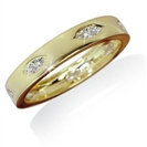0.50CT I1/G Marquise Diamond Mens Ring