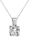 Image for Embrace Round Diamond Designer Pendant