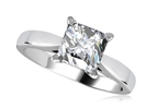 Image for Modern Princess Diamond Engagement Ring