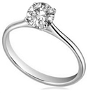 0.70ct I1/H Diamond Solitaire Ring