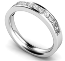 Image for Princess Diamond Half Eternity Ring