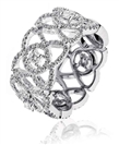 Image for 1.30CT Elegant Patterned Round Diamond Dress Ring
