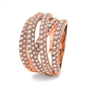 Image for 4.00CT Spiral Round Diamond Dress Ring