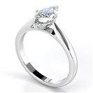 Classic Marquise Diamond Engagement Ring