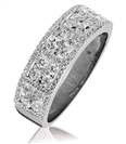 Image for 0.90CT Elegant Round Diamond Designer Ring