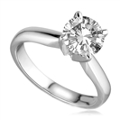 Image for CERTIFIED 2.09 I1/E Round Diamond Ring