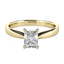Image for Elegant Radiant Diamond Engagement Ring