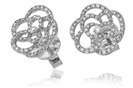 Image for Modern Designer Round Diamond Earrings