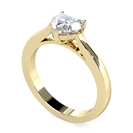 Image for Modern Heart Diamond Engagement Ring