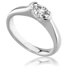 Oval Diamond Engagement Ring