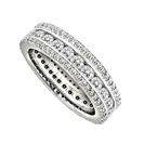 Image for 2.50CT Triple Row Diamond Full Eternity/Dress Ring