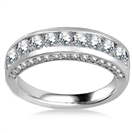 Image for Unique Round Diamond Eternity/Wedding Ring