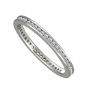 Image for 2mm Elegant Round Diamond Full Eternity Ring