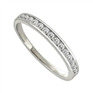 Petite Round Diamond Eternity Ring