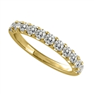 0.50CT VS/FG Round Diamond Eternity Ring