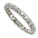 Image for 1.00ct Elegant Round Diamond Full Eternity Ring