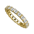 Image for 1.00ct Elegant Princess Diamond Full Eternity Ring