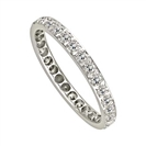 Image for 3mm Elegant Round Diamond Full Eternity Ring