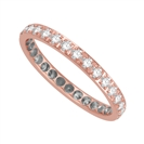Image for Elegant Round Diamond Full Eternity Ring