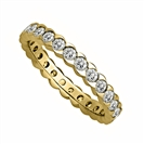 Image for 1.00ct Round Diamond Full Eternity Ring