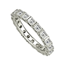 2.00CT Elegant Princess Diamond Full Eternity Ring