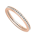 Image for 2.5mm Elegant Round Diamond Full Eternity Ring