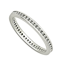 0.36CT VS/EF Round Diamond Full Eternity Ring