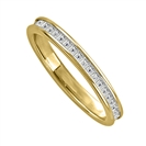 0.77CT VS/EF Princess Diamond Eternity Ring