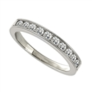 3.5mm Milgrain Round Diamond Eternity Ring