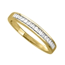 Image for 3.5mm Elegant Baguette Diamond Eternity Ring