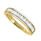 Image for 4mm Elegant Baguette Diamond Eternity Ring