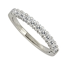 Image for 2.5mm Elegant Round Diamond Eternity Ring