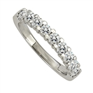 Image for 3mm Elegant Round Diamond Eternity Ring