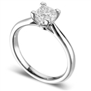 Image for Elegant Princess Diamond Engagement Ring