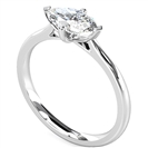 East West Marquise Diamond Engagement Ring